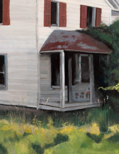 """Someone is at the front door, 2008 