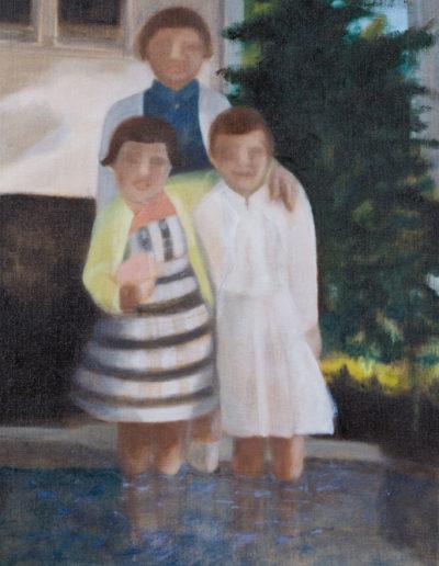 "Tides Arisin, 2011 | 16"" x 12"", Oil on Panel"