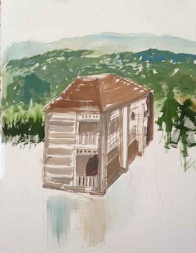 """House with reflection, 2014 