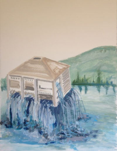 """Weeping House, 2014 