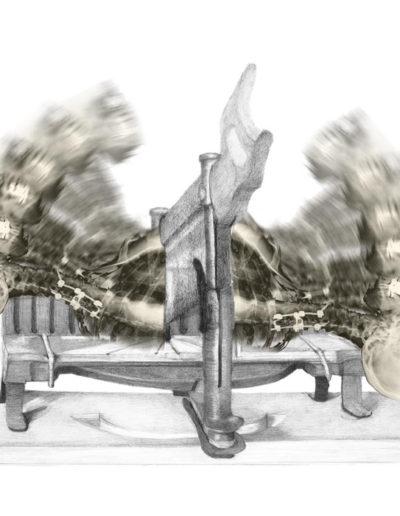 "Falling, 2012 | 15""x20"", Archival Pigment Print"
