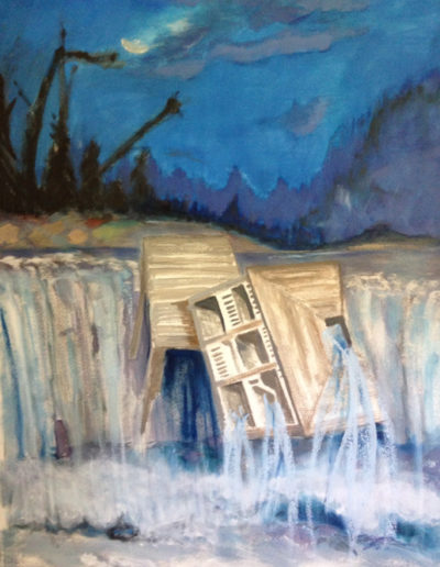 """Weeping House Falling, 2014 
