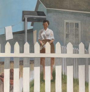 Aunt Martha Jean, 2020 | 36x36 Oil on canvas